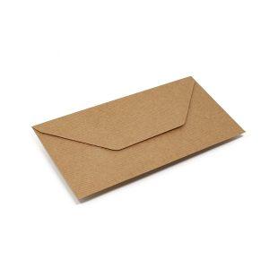 Vokai DL – perdirbto popieriaus rantyti (Brown craft Ribed)